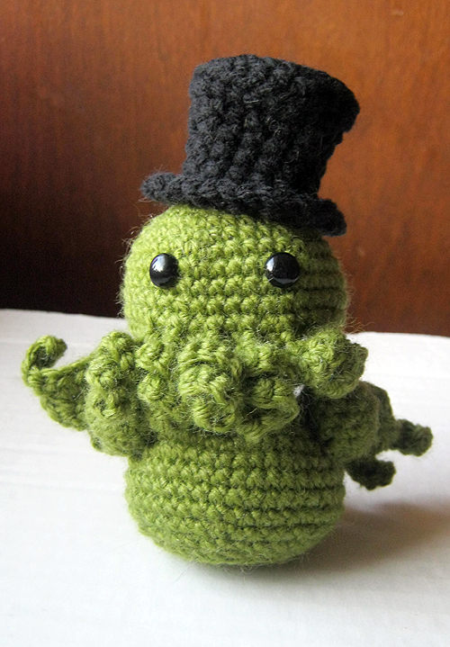 Cthulhu Crochet And Cousins Monkey Waffles
